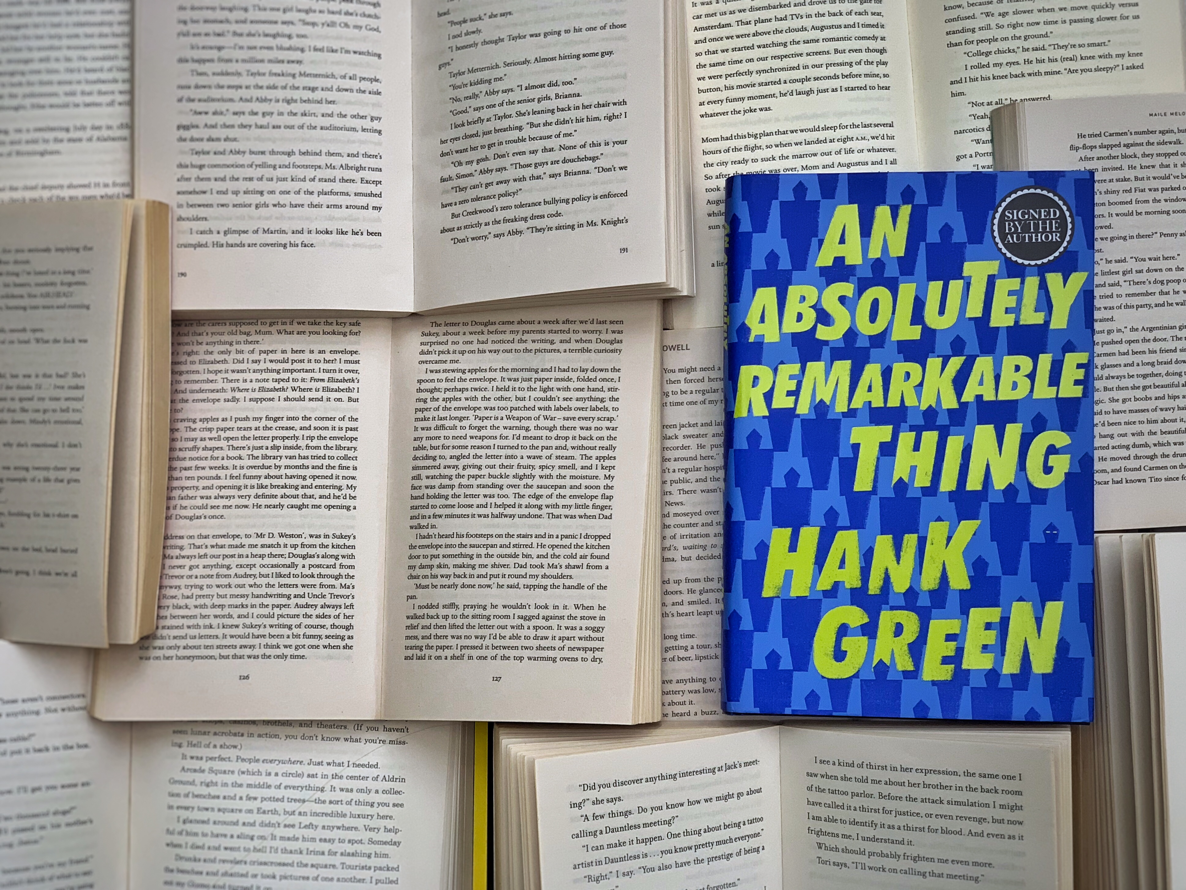 An Absolutely Remarkable Thing by Hank Green | Book Review ...