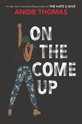 The book cover for On the Come Up by Angie Thomas