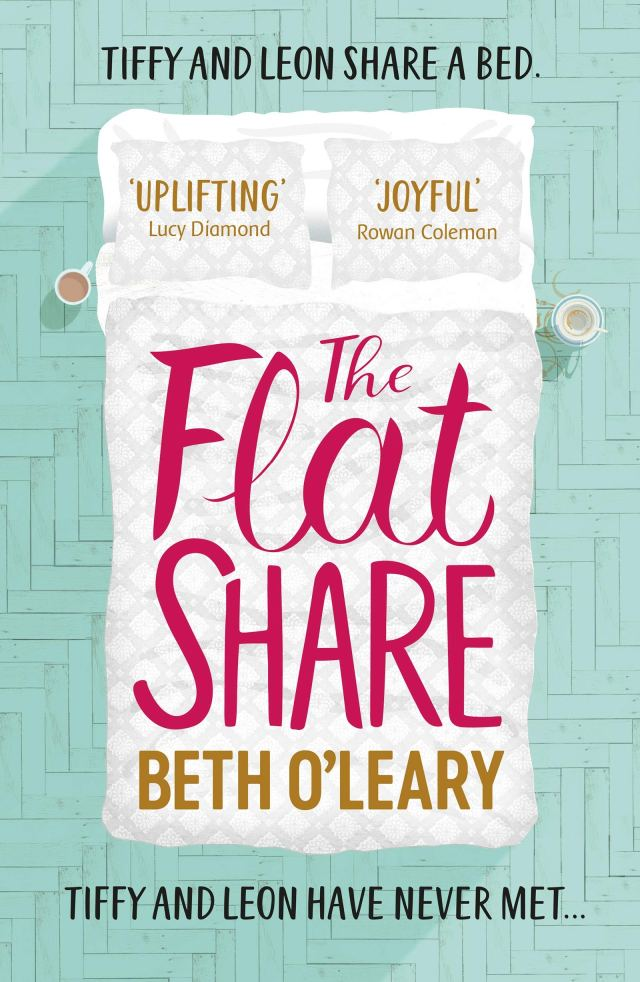 The cover of The Flatshare by Beth O'Leary
